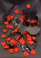 Набор БДСМ-аксессуаров AMAZING BONDAGE SEX - фото 1515157