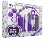 Набор фиолетовых стимуляторов Imperial Rabbit Kit  - фото 1147008