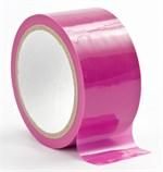 Розовая лента для связывания Bondage Tape - фото 211065