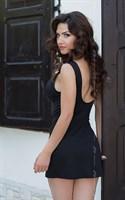 Сексуальное платье Dina с красивым декольте - фото 9998