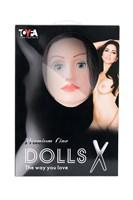 Надувная секс-кукла KAYLEE с реалистичным личиком - фото 97286