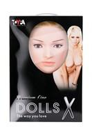 Надувная секс-кукла LILIANA с реалистичной головой и поднятыми ножками - фото 97292