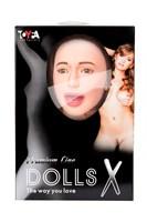 Надувная секс-кукла брюнетка GABRIELLA с реалистичной головой - фото 97295