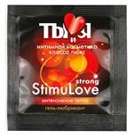 Разогревающий гель-лубрикант Stimulove Strong в одноразовой упаковке - 4 гр. - фото 10311