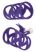 Набор фиолетовых насадок TICKLER BUNNY SLEEVE SET - фото 529078