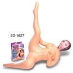 Надувная секс-кукла с задранной вверх ножкой - фото 1147786