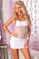 Бесшовное платье с вставкой из сетки на животике ADRENALINE SEAMLESS NET DRESS - фото 11764