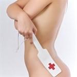 Кожаная хлопалка медсестры - фото 11775