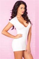 Облегающее мини-платье с разрезами на спинке PARTY IN THE BACK MINI DRESS - фото 10517