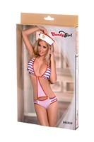 Игровой костюм морячки: боди и головной убор - фото 10538
