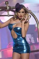 Клубное платье с асимметричным вырезом - фото 211886