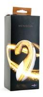 Золотистый клиторальный стимулятор Meniscus - фото 181757