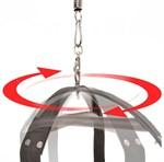 Чёрные секс-качели Spinning Fantasy Swing - фото 11252