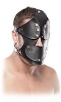 Маска на лицо с окошками EXTREME GAG BLINDER  - фото 192674