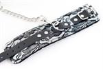 Кружевные серебристые наручники  - фото 11556