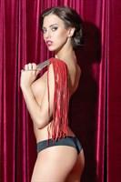Красная кожаная плеть - фото 1149162