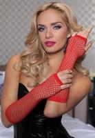 Длинные ажурные перчатки - фото 12112