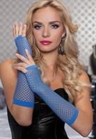 Длинные ажурные перчатки - фото 12110