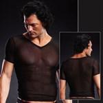 Сетчатая футболка - фото 14057