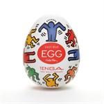 Мастурбатор-яйцо Keith Haring EGG DANCE - фото 14146