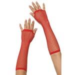 Длинные перчатки в сетку - фото 214538