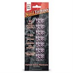 Набор лаковых полосок для ногтей Фиолетовый леопард Nail Foil - фото 183839