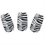 Набор лаковых полосок для ногтей Зебра Nail Foil - фото 456006