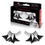 Накладные черные ресницы с перышками Flirty Feathers - фото 456086