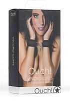 Черные наручники Velcro Cuffs - фото 456359