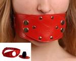 Красный разборный кляп - фото 1151963