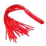Красная многохвостая плеть  Ракета  - 60 см. - фото 457128