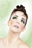 Зеленые пушистые ресницы - фото 531963