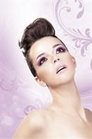 Светло-розовые ресницы-перья - фото 531977