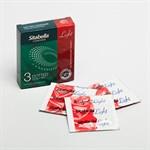 Презервативы Sitabella Light с возбуждающим эффектом и точками - 3 шт. - фото 532221