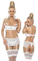 Комплект белья с открытым лифом - фото 246846