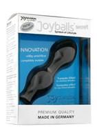 Чёрные вагинальные шарики Joyballs Secret - фото 216849