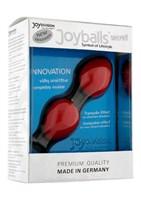 Красные вагинальные шарики Joyballs Secret - фото 1152930