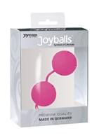Розовые вагинальные шарики Joyballs Pink - фото 1152935