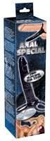 Насадка Anal Special для двойного проникновения - 16 см. - фото 1656730