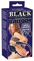 Черный анальный расширитель с грушей Simply Anal Balloon - фото 141985