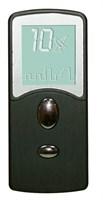Черный виброэлемент с пультом управления - 8 см. - фото 189806