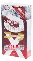 Ароматизированные презервативы Sagami Xtreme Cola - 10 шт. - фото 193667