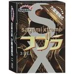 Суженные к основанию презервативы Sagami Xtreme Cobra - 3 шт. - фото 15056