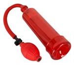 Красная вакуумная помпа BANG BANG - фото 1153515