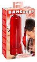 Красная вакуумная помпа BANG BANG - фото 1153516