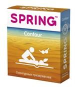 Контурные презервативы SPRING CONTOUR - 3 шт. - фото 1153673