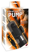 Помпа для пениса с вибропулей Vibrating Man Pump - фото 1197238