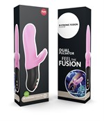 Розовый пульсатор Bi Stronic Fusion - 21,7 см. - фото 217636