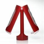 Красный фаллостимулятор FLIP HOLE RED - фото 1153934