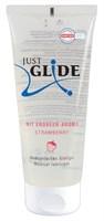 Гель-лубрикант Just Glide с ароматом клубники - 200 мл. - фото 1523032